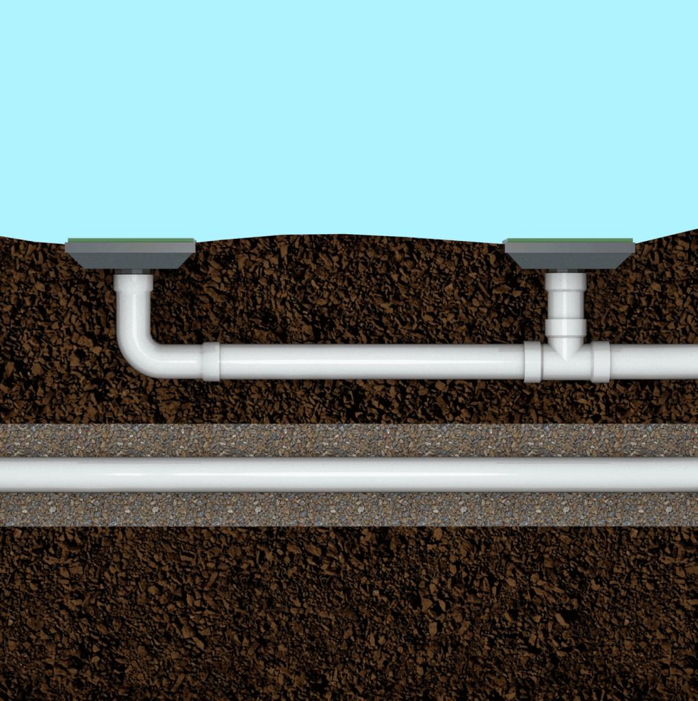 double barrell drain