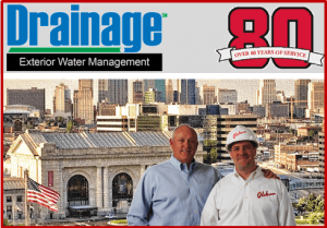 Kansas City Drainage Services Banner
