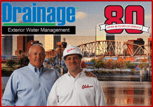 drainage services banner - little rock, ar