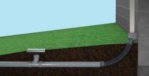 gravity drain