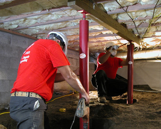tennessee crawl space repair