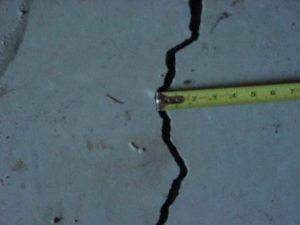 cracked slab wichita