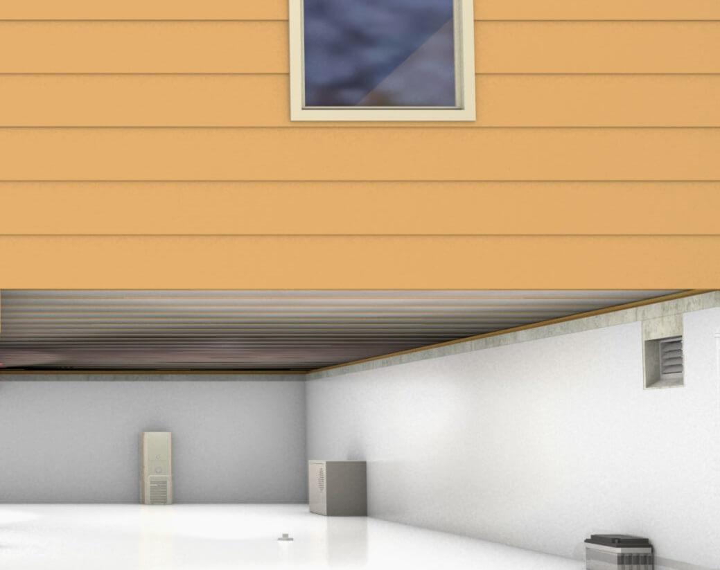 crawl space encapsulation dehumidifier