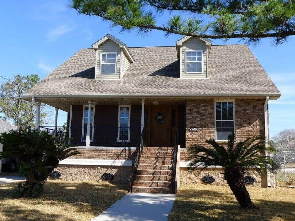 Houston House Raising Company | Home Elevation | Olshan ... on louisiana inspired homes, louisiana wetlands homes, louisiana small homes,