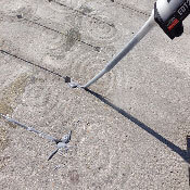 Crack Lock enables you to recover damaged concrete and maintain existing aesthetics, instead of having to turn to expensive concrete replacement.