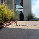Uneven sidewalks can be restored in minutes, helping to eliminate trip hazards.