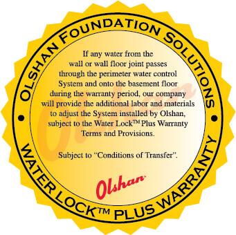 Olshan Available Lifetime Transferable Warranty