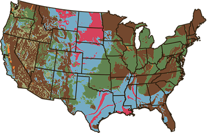 Expansive Clay Soil Map of US
