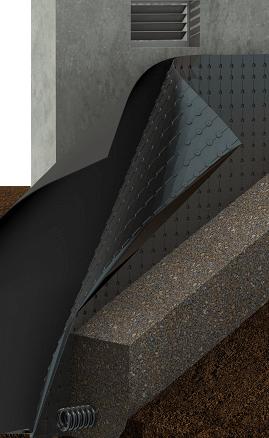 exterior wall waterproofing