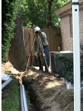 positive drainage