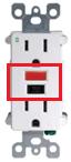 GFCI Power Outlet
